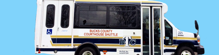 Bucks County Courthouse Shuttle